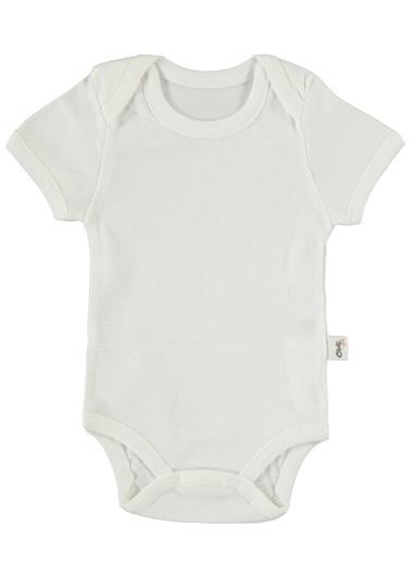 Civil Baby Civil Erkek Bebek Çıtçıtlı Badi Ekru